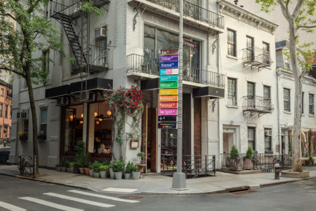 MASTERCARD y «La calle de la aceptación» en Nueva York